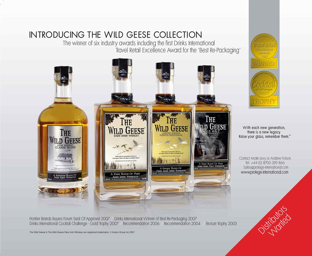 Featured in Drinks International December 2007