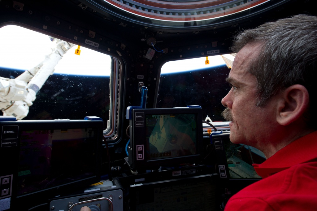 ISS-34_Chris_Hadfield_inside_the_Cupola
