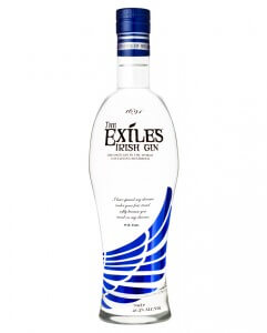 Exiles Premium Irish Gin was launched in late 2014.
